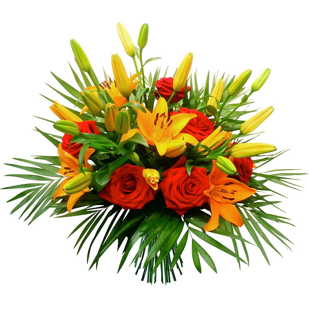 Chez jolies fleurs vous pr sente ses bouquets de fleurs for Bouquet de fleurs guadeloupe