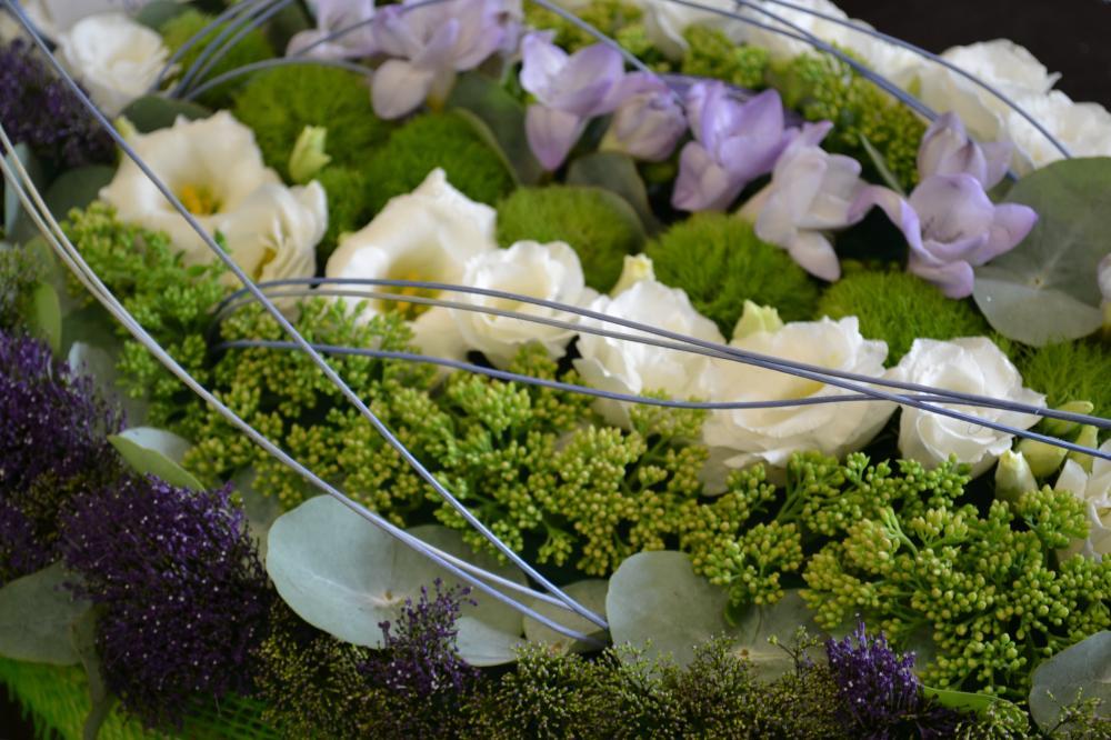 ✿ Couronne de fleurs